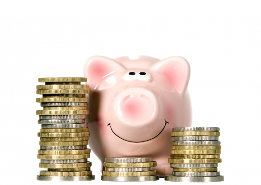 stockfresh_id817808_pig-is-smiling-and-standing-near-money_sizeS