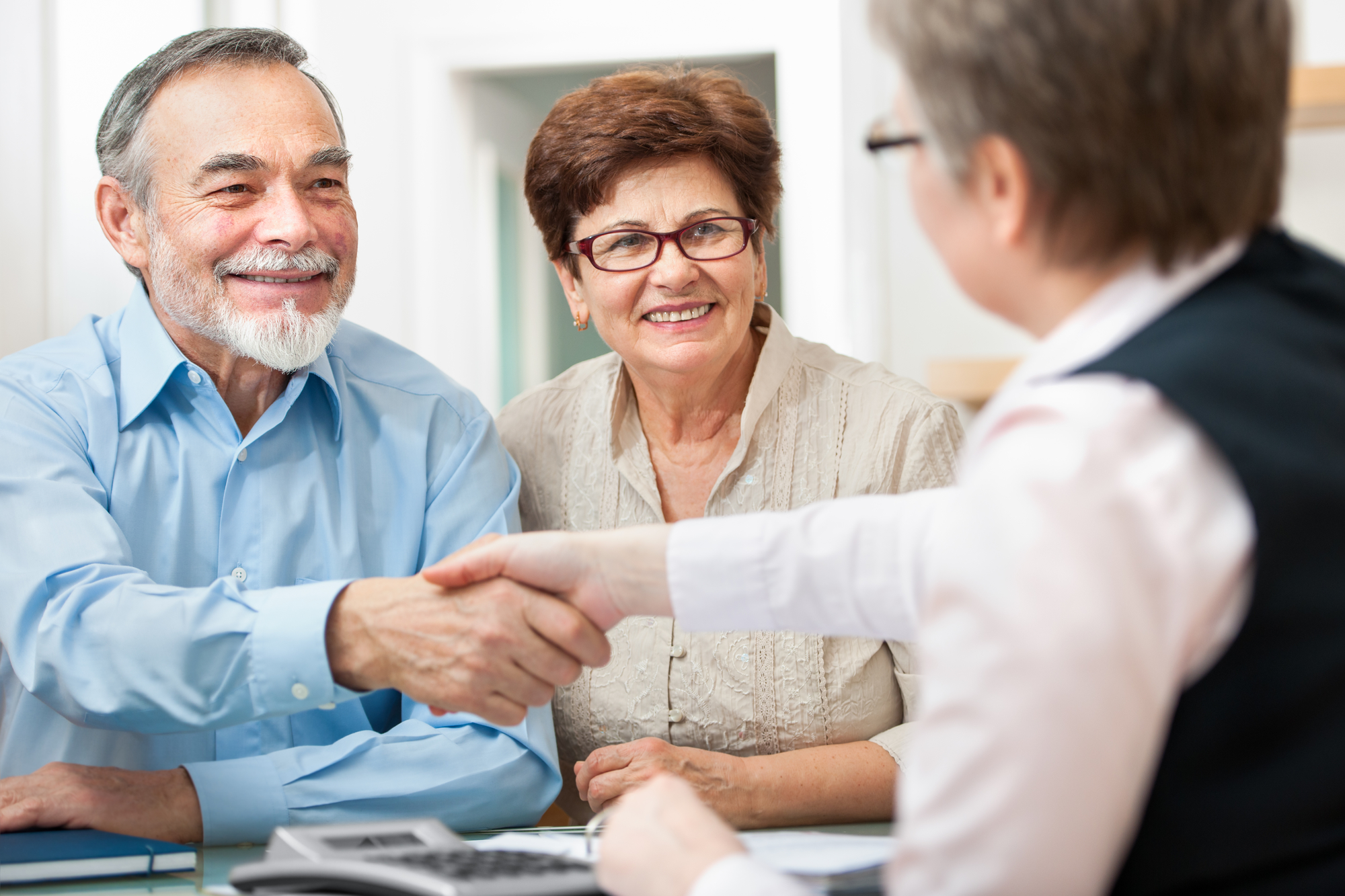 Reverse Mortgage Signing